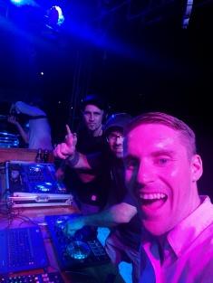 Selfie with the DJs